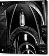 Light In The Basilica Acrylic Print