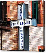Light In The City Acrylic Print