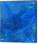 Light It Up Blue Acrylic Print