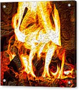 Light My Fire I Acrylic Print