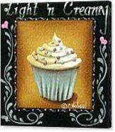 Light 'n Creamy Acrylic Print