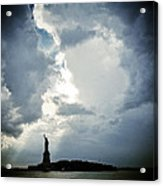 Light Of Liberty Acrylic Print