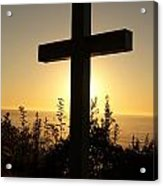Light Of The Cross Acrylic Print