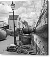 Light Of The Dock Acrylic Print
