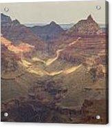 Light On The Canyons Acrylic Print