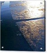 Light On The Ice Acrylic Print