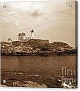 Light On The Nubble Acrylic Print by Skip Willits