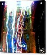 Light Play On Tower Bridge Acrylic Print