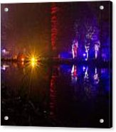 Light Reflections Acrylic Print by Andrew Lalchan