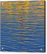 Light Reflections On The Water Acrylic Print