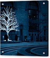 Light Snow Acrylic Print