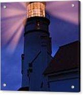 Light Up The Ocean And Sky Acrylic Print