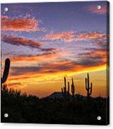 Light Up The Sky Southwest Style  Acrylic Print