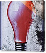 Lightbulb Acrylic Print