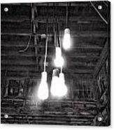 Lightbulbs Acrylic Print