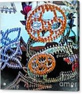 Lighted Circles Acrylic Print