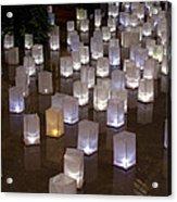 Lighted Lantern Bags Acrylic Print