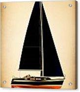 Lightening Sails Acrylic Print