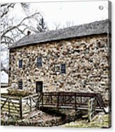 Lightfoot Mill At Anselma Chester County Acrylic Print