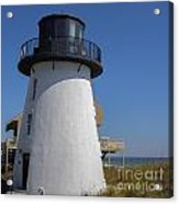 Lighthose Fernandina Beach Acrylic Print