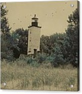 Erie Lighthouse Among The Trees Acrylic Print