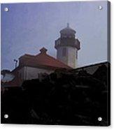 Lighthouse At Alki Beach 2 Acrylic Print