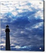 Lighthouse At Cape May Nj Acrylic Print