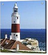 Lighthouse At Europa Point Gibraltar Acrylic Print