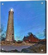 Lighthouse At Lighthouse Point Park Acrylic Print