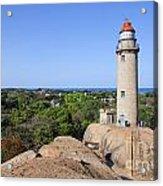 Lighthouse At Mamallapuram Acrylic Print