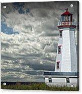 Lighthouse At North Cape On Prince Edward Island Acrylic Print