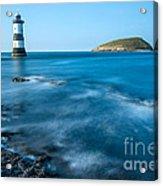 Lighthouse At Penmon Point Acrylic Print