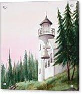 Lighthouse At Sunrise Acrylic Print