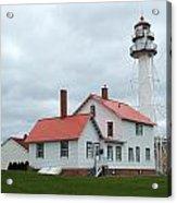 Lighthouse At Whitefish Acrylic Print