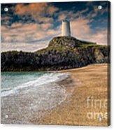 Lighthouse Beach Acrylic Print