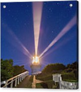 Lighthouse Beams By The Southern Cross Acrylic Print