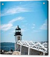 Lighthouse Acrylic Print by Belinda Dodd