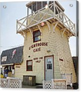 Lighthouse Cafe In North Rustico Acrylic Print