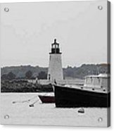 Lighthouse Calming Effect Acrylic Print