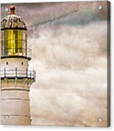 Lighthouse Cape Elizabeth Maine Acrylic Print