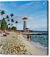 Lighthouse.  Dominican Republic.  Acrylic Print