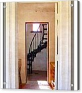 Lighthouse Door Acrylic Print