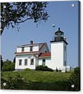Lighthouse Fort Point Acrylic Print
