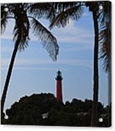 Lighthouse From Afar Acrylic Print
