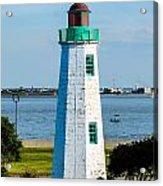 Lighthouse Hdr Acrylic Print