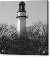 Lighthouse In Trees Acrylic Print
