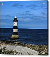Lighthouse Isle Of Anglessy Wales Acrylic Print