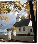 Old Mission Point Acrylic Print