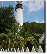 A Sailoirs Guide On The Florida Keys Acrylic Print