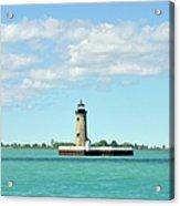 Lighthouse Lake St. Clair Acrylic Print